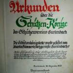 1951 Urkunde