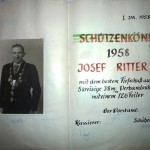 1958 Josef Ritter