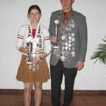 Könige 2005 - Bettina Mader und Erwin Stöffel