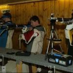 Schützen aus der Bundesligamannschaft von Dynamit Fürth