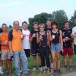 Gruppenbild der Mannschaft nach dem erfolgreichen Lauf