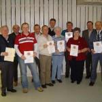 Mitgliederehrungen für 25 / 40 / 50 Jahre Mitgliedschaft im Schützenverein Burtenbach