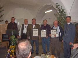 Verleihung der Gauehrennadel