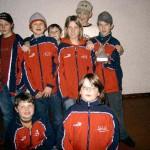 Schützenjugend mit neuen Jacken nach dem Gaujugendschießen - auch den Schülerpokal haben wir gewonnen!