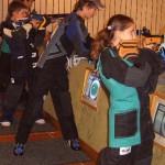 Jugend am Stand beim Training