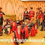 Vorbereitung zu den Bayerischen Meisterschaften 2007 in München