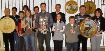 Sieger des Jahresabschlusschießens 2008 und Könige für 2009