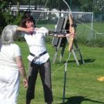 auch die Trainerin Inge braucht hier Coaching
