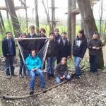Gruppenfoto der Jungschützen nach einem gelungenen Tag