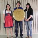 Juniorenscheibe 2012 - Victoria von Stetten, Christian Eichele und Michaela Rudolph