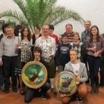 Gruppenbild der Sieger 2013 mit dem Königen 2014